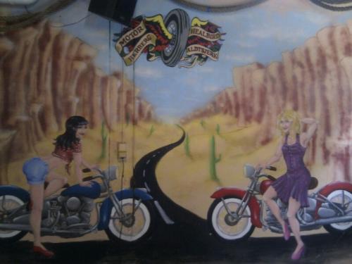 Pin-up Mural