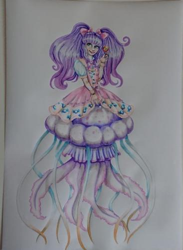 Frilled jellymaid