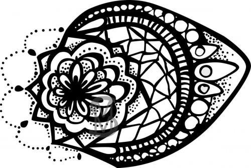 Henna Doodle - Vector version